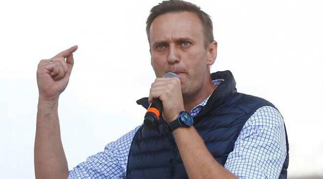 Rus muhalif Aleksey Navalnıya 10 gün hapis cezası