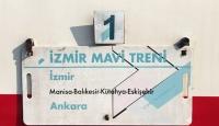 İzmir'den Ankara'ya 'mavi' yolculuk