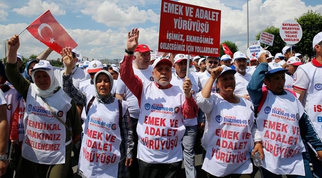 Belediye işçilerinden açlık grevi kararı