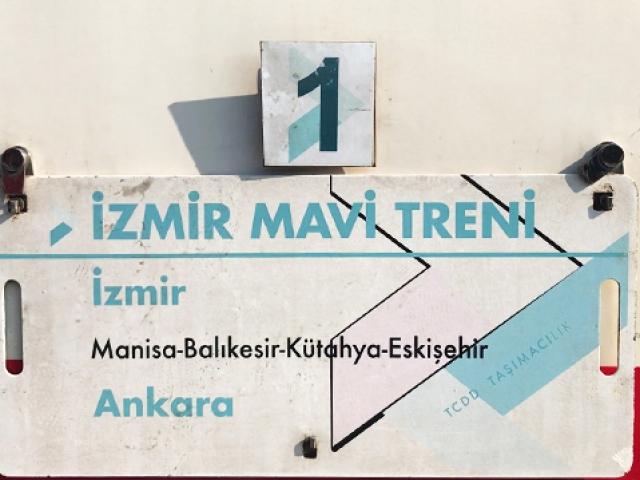 İzmirden Ankaraya mavi yolculuk
