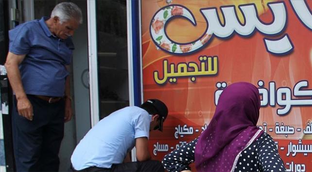 İstanbulda Arapça tabelalara denetim