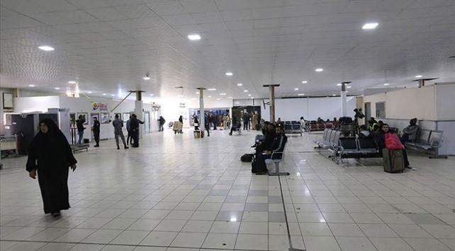 Trablustaki Mitiga Havalimanında seferler geçici olarak durduruldu