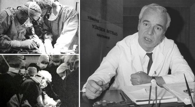 Türkiyede ilk kalp naklini yapan Kemal Bayazıtın başarılarla dolu yaşamı