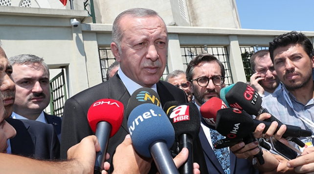 Cumhurbaşkanı Erdoğan: Olayın terörle bağlantısı olabilir