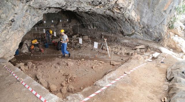 Direkli Mağarasındaki kazılar 12 yıldır devam ediyor