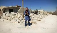Rejimin bombaladığı İdlib'i TRT Haber görüntüledi