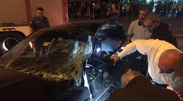 Kayseride trafik kazası: 2 ölü, 4 yaralı