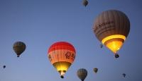 Kapadokya'daki sıcak hava balon turlarına 6 ayda 232 bin katılım