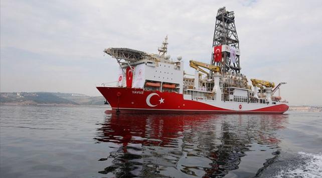 Türkiyenin ikinci sondaj gemisi Yavuz Kıbrısa ulaştı