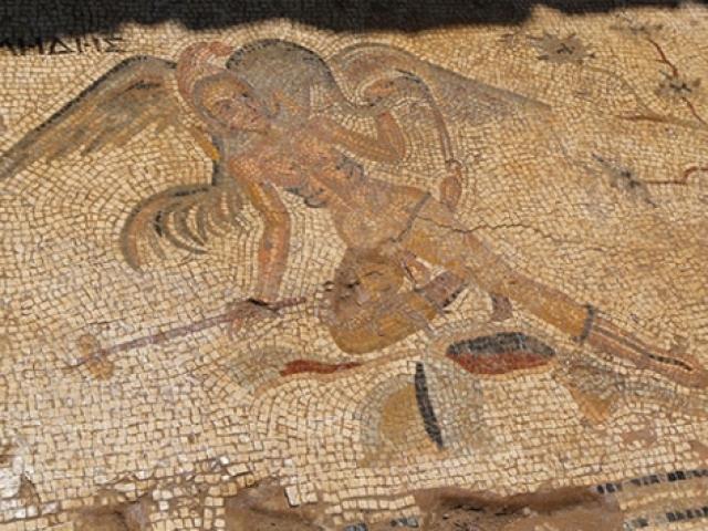 Antiocheia Ad Cragum Antik Kentinde yeni mozaikler bulundu
