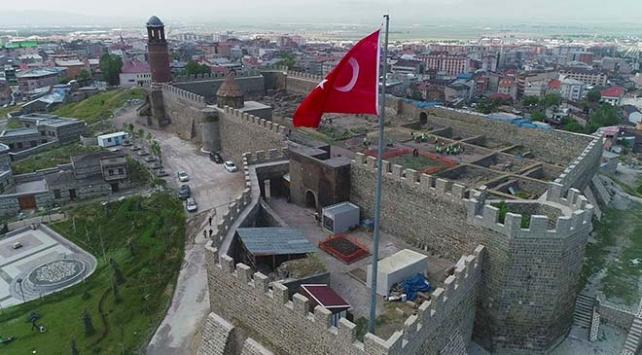 Erzurum Kalesinde tarih kazısı