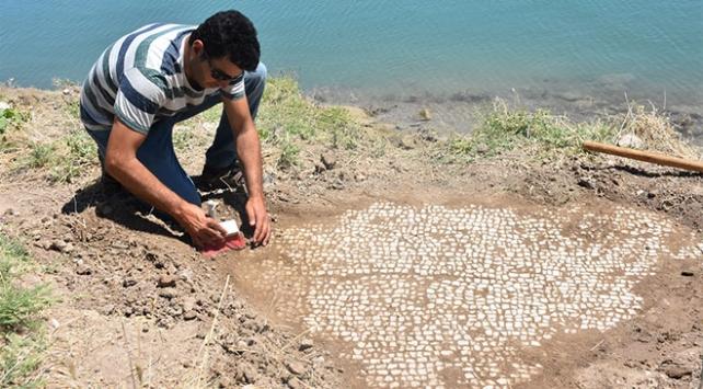 Adıyamanda milattan sonra 6. yüzyıla ait mozaik bulundu