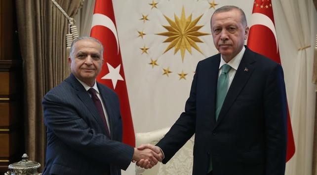 Cumhurbaşkanı Erdoğan, Irak heyeti ile görüştü