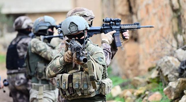 Jandarma ve polis eli kanlı PKKya nefes aldırmadı
