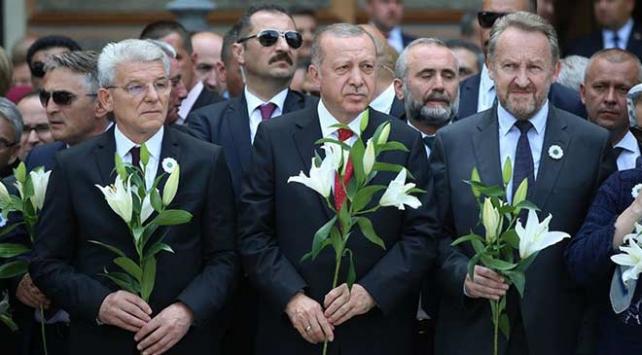 Cumhurbaşkanı Erdoğan: Srebrenitsa soykırımı asla unutulmayacaktır