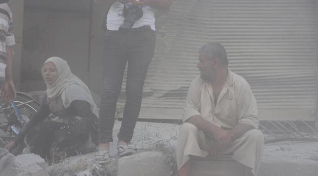 Rejimin hava saldırısında 4 çocuğunu kaybetti