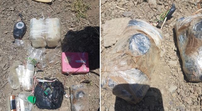 Hakkaride 60 kilogram el yapımı patlayıcı bulundu