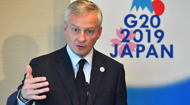Fransız bakandan ABDye vergi tepkisi