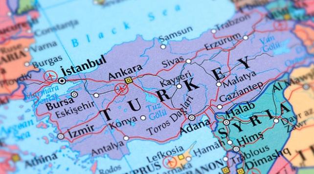 Türkiyenin nüfus haritası çıkarıldı
