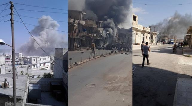 Rejim İdlibi vurdu: 10 sivil hayatını kaybetti