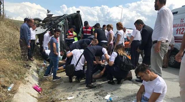 Kuzey Marmara Otoyolunda kaza
