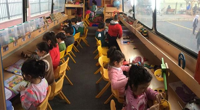 Öğretmenler 40 bin çocuğun ayağına ana sınıfı eğitimi götürdü