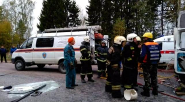 Rusyada trafik kazası: 10 ölü