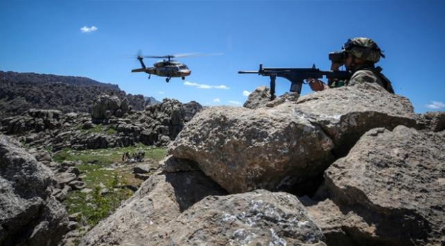Irakın kuzeyinde 143 terörist etkisiz hale getirildi