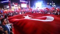 Türk milleti vatan nöbetleriyle hainlere geçit vermedi