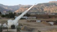 Pençe-2 Operasyonu'nda PKK hedefleri ateş altına alındı