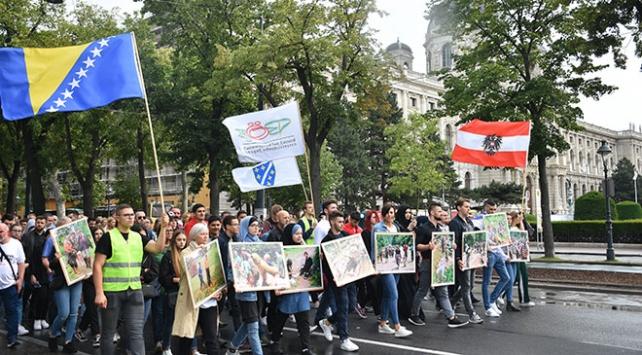 Avusturyada Srebrenitsa soykırımı kurbanları anıldı