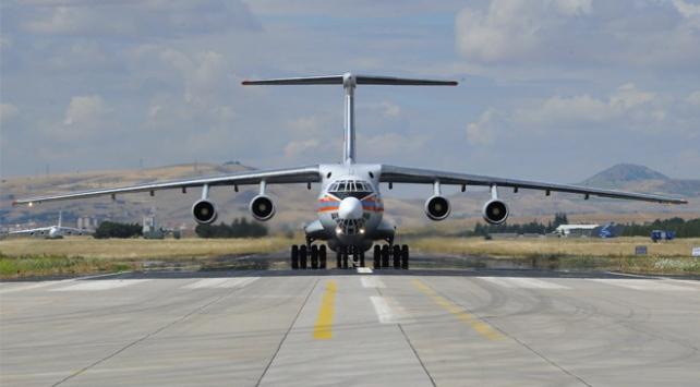 S-400 intikali devam ediyor: Yeni parçalar Ankaraya geldi