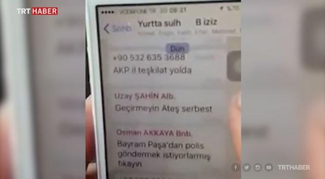 Darbecilerin o geceki WhatsApp yazışmaları ihaneti ortaya koydu