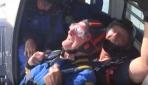 100üncü yaşını 4 bin 500 metre yükseklikten atlayarak kutladı