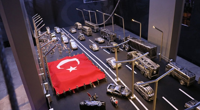 Samsunda Şehit Erol Olçok 15 Temmuz Müzesi açıldı