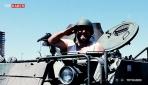 15 Temmuzda beş dakika içinde tank kullanmayı öğrendi
