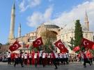 """Londra ve İstanbul'da eş zamanlı """"15 Temmuz"""" koreografisi"""
