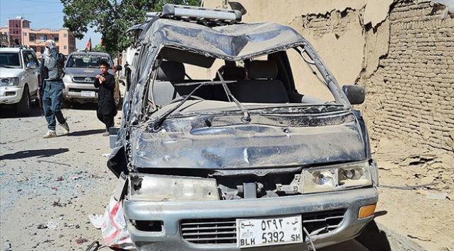 Afganistanda bombalı saldırı: 9 ölü
