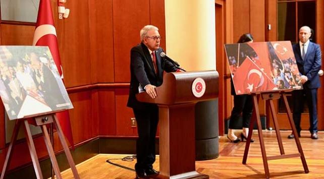 Türkiyenin Washington Büyükelçiliğinde 15 Temmuz etkinliği