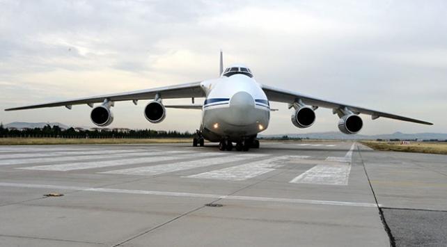 S-400 sevkiyatı kapsamında 10uncu uçak Mürtede indi