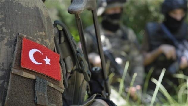 Irakın kuzeyinde 1 asker şehit oldu
