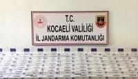 Kocaeli'de 4 bin 400 paket kaçak sigara ele geçirildi