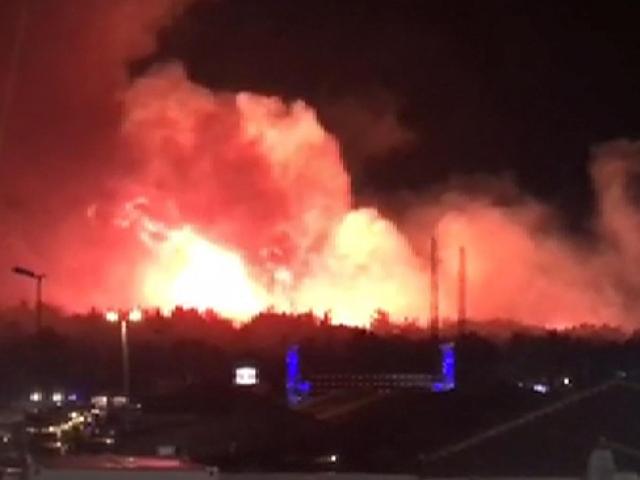 Hırvatistan'da orman yangını: 10 bin kişi tahliye edildi