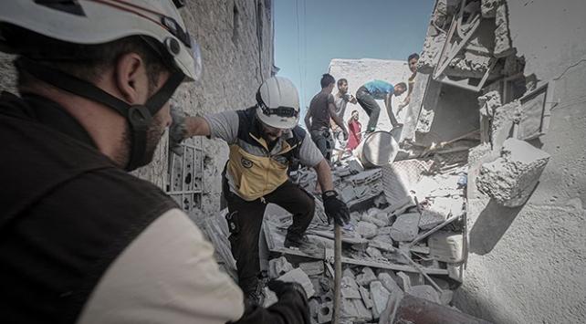 Esed rejimi İdlibi vurmaya devam ediyor: 9 ölü, 14 yaralı