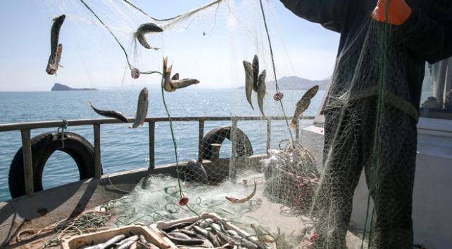 """Van Gölündeki balıkçılar """"vira bismillah"""" dedi"""