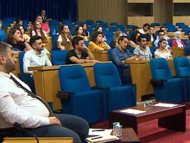 48 öğrenci TRT Akademi Eğitim Kampı'nda buluştu