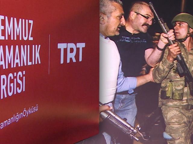 Şanlı mücadele TRT'de açılan sergi ile ölümsüzleşti