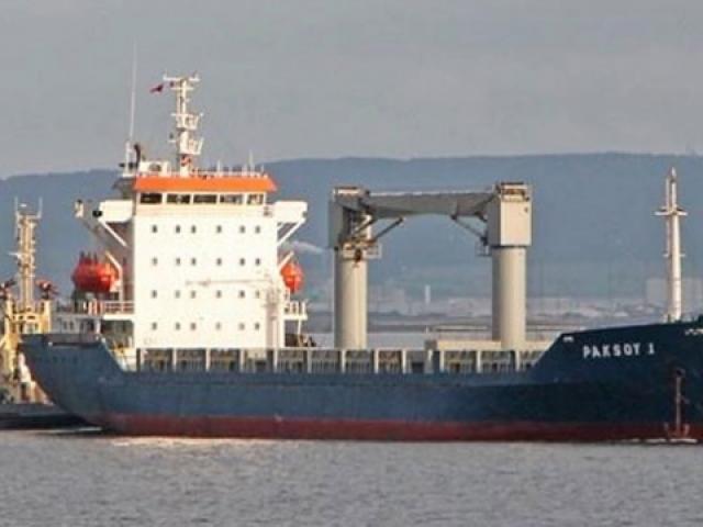 Nijerya açıklarında kaçırılan gemiden ilk görüntüler