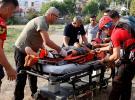 Ayak bileği kırılan ABD'li kadın turist helikopterle kurtarıldı