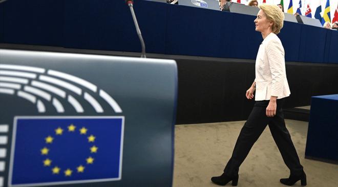 AB Komisyonu Başkanlığına Ursula von der Leyen atandı
